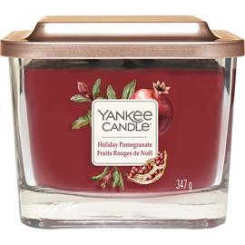 Yankee Candle Holiday Pomegranate - Medium Square Vessel 347 g