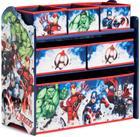 Marvel Avengers Puinen Hyllykkö, 6 Laatikkoa