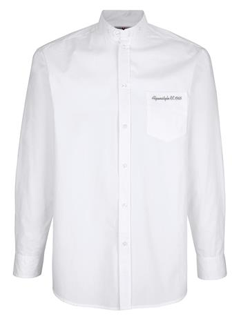 """Roger Kent"""" """"Pystykauluksinen paita valkoinen"""