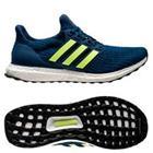 adidas Ultra Boost 4.0 - Sininen/Keltainen/Valkoinen