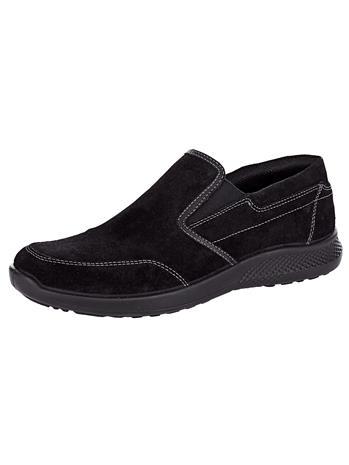 """Jomos """"Kengät tehostevärisin ompelein musta"""""""