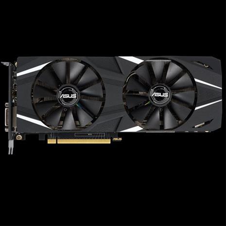 ASUS GeForce RTX 2060 Dual OC 6 GB, PCI-E, näytönohjain