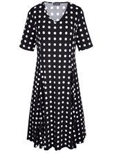"""m. collection"""" """"Pallokuosinen mekko Musta::Kermanvalkoinen"""