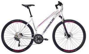 Serious Tenaya hybridipyörä , valkoinen