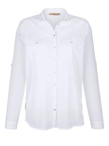 """Smith & Soul"""" """"Puuvillainen paitapusero Valkoinen"""