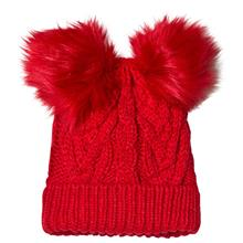 Tg Cable Hat Modern Red 2