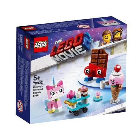 70822 LEGO® Movie 2 Puolikisun KAIKKIEN AIKOJEN suloisimmat ystävät!