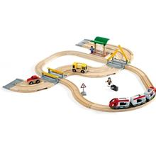 BRIO® World – 33209 Rail & Road Matkustussetti