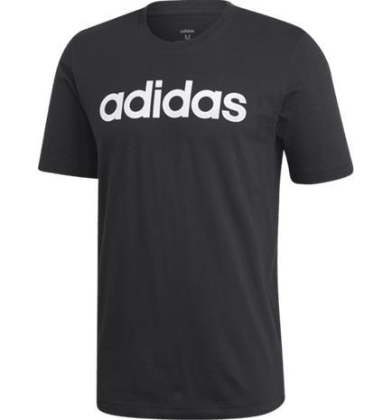 Adidas M LIN TEE BLACK/WHITE