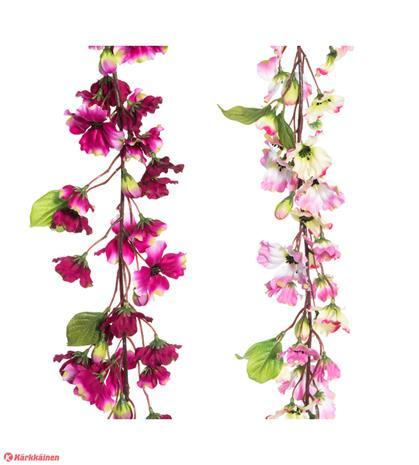 4Living 188cm kukkaköynnös silkkikukka