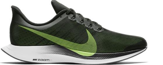 Nike NIKE ZOOM PEGASUS 35 TURBO BLACK/LIME BLAST-V