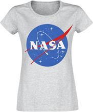 NASA NASA Circle Logo Naisten T-paita hiilenharmaa