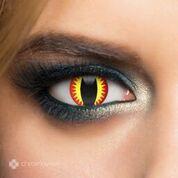 Chromaview Dragon Eye Piilolinssi punainen-keltainen