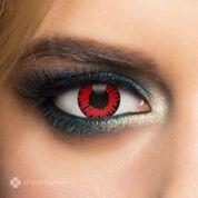Chromaview Twilight Volturi Piilolinssi punainen-musta