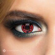 Chromaview Mandara Loop Piilolinssi punainen-musta