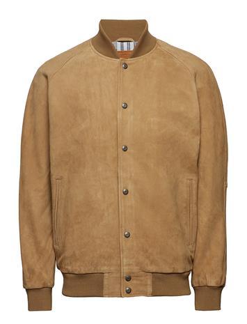 LEVI´S Men Suede Varsity Jacket Harvest G Ruskea