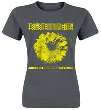 Twenty One Pilots Daisy Naisten T-paita tuhkanharmaa-harmaa