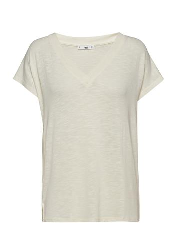 Mango Flecked T-Shirt Kermanvärinen