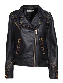 Sofie Schnoor Leather Jacket Musta