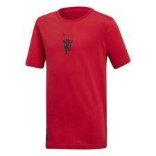 Manchester United T-paita Graphic - Punainen/Musta Lapset