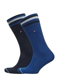 Tommy Hilfiger Th Men Pete Sock 2p Sininen
