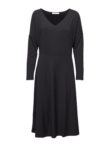 Violeta by Mango V-Neckline Dress Musta