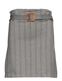 Mango Short Belt Skirt Harmaa