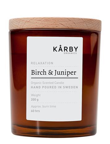 Kä¥rby Organics Birch & Juniper - Original Candle Nude