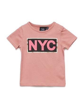 Petit by Sofie Schnoor T-Shirt Nyc Vaaleanpunainen