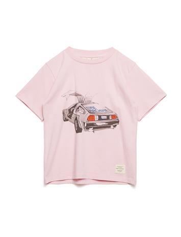 Soft Gallery Asger T-Shirt Vaaleanpunainen