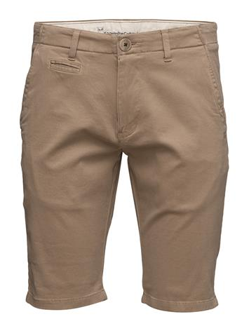 Knowledge Cotton Apparel Stretch Chino Shorts - Gots/Vegan Beige