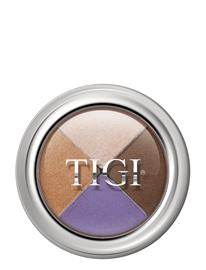TIGI Cosmetics Tigi High Density Quad Eyeshadow, Posh Monivärinen/Kuvioitu