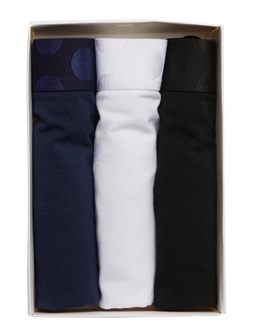 Happy Socks 3-Pack Solid Trunk Sininen