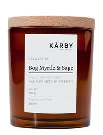 Kä¥rby Organics Bog Myrtle & Sage - Original Candle Nude