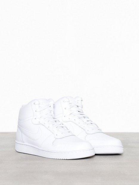 Nike Sportswear Nike Ebernon Mid Tennarit   kangaskengät White ... 4c78f07ecc