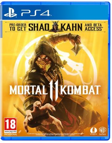 Mortal Kombat 11, PS4 -peli