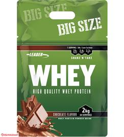 Leader Whey, heraproteiinijauhe 2 kg