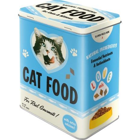 Peltipurkki Retro Cat Food