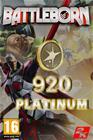 Battleborn - 920 Platinum Currency, PC-peli