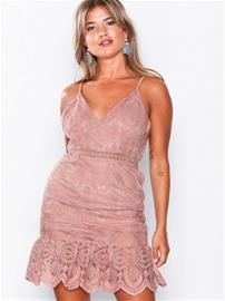 Love Triangle Coco Rush Frill Hem Mini Dress