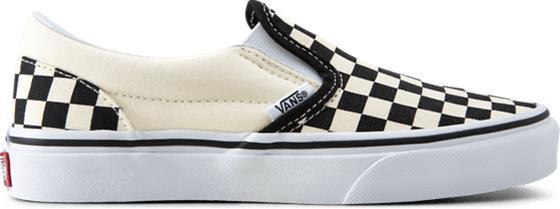Vans J CLASSIC SLIP-ON BLACK/WHITE