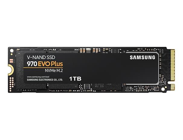 Samsung 970 Evo Plus (1 TB, M.2 2280) MZ-V7S1T0BW, SSD-kovalevy