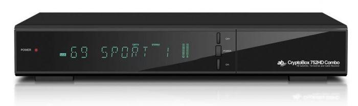 AB CryptoBox 752HD DVB-S2, digiboksi