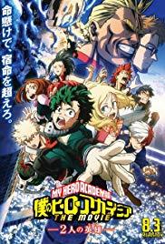 My Hero Academia: The Movie (2018, Blu-Ray), elokuva
