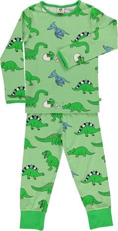 Småfolk Dino Pyjama, Pistache Green 4-5 vuotta