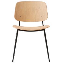 Fredericia Søborg 3060, teräsrunkoinen tuoli