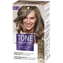 Tone Supreme - Discreet Grey Toning 1 set 7.1 Ashy Dark Blond
