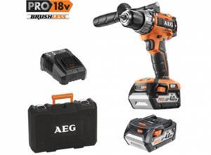 AEG Powertools BS 18C2BL LI-402C (4935464095) 18V 2x4,0Ah, akkupora/-ruuvinväännin