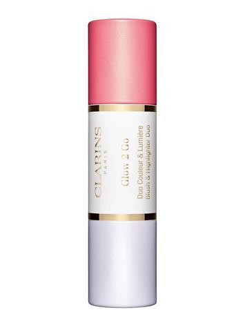 Clarins Stick Blush & Highlighter 01 Glowy Pink Vaaleanpunainen