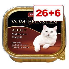 Animonda vom Feinsten kissanruoka 32 x 100 g: 26 + 6 kaupan päälle! - Senior (3 makua)